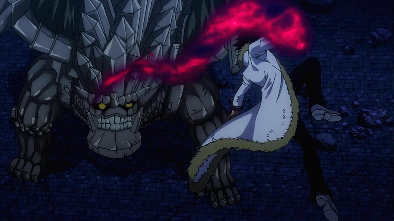 Cobra vs. Rock Dragon | Fairy Tail Wiki | Fandom powered by Wikia