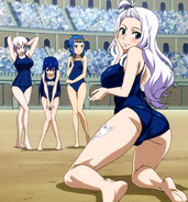 School swimsuit contest