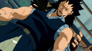 Gajeel says that Lucy should be ready for all this when she become a member of a guild