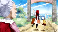 Levy and Erza going on a mission