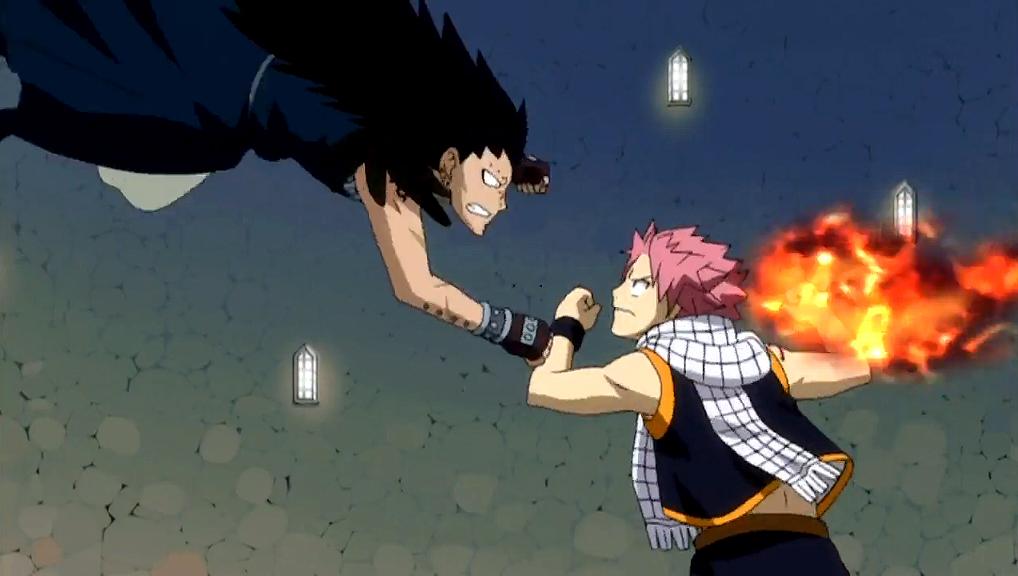 Dragon Slayer Battle] Natsu Dragneel vs Gajeel Redfox