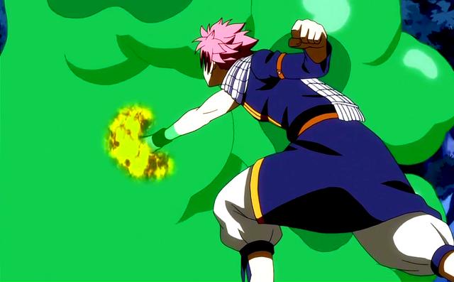 File:Natsu attacks the slime.png