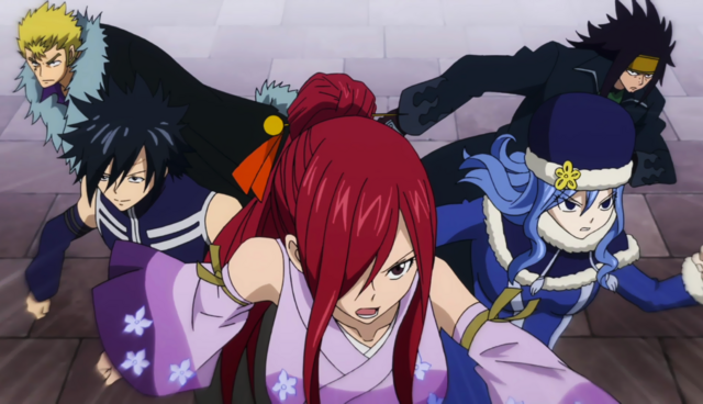 File:Fairy Tail Team heads out.png