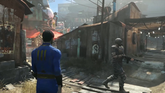 Fo4 DiamondCity Inside