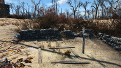 FO4 Mary Abernathy grave