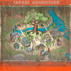 NW Park Map Safari Adventure