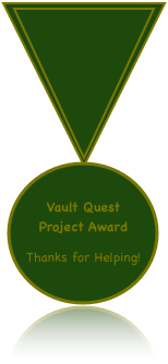 Vault Quest Project Award