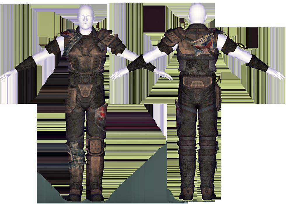 Marked Patrol Armor Fallout Wiki Fandom Powered By Wikia