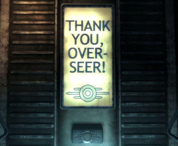 File:Vault 101 Thank you, Over-seer!.jpg
