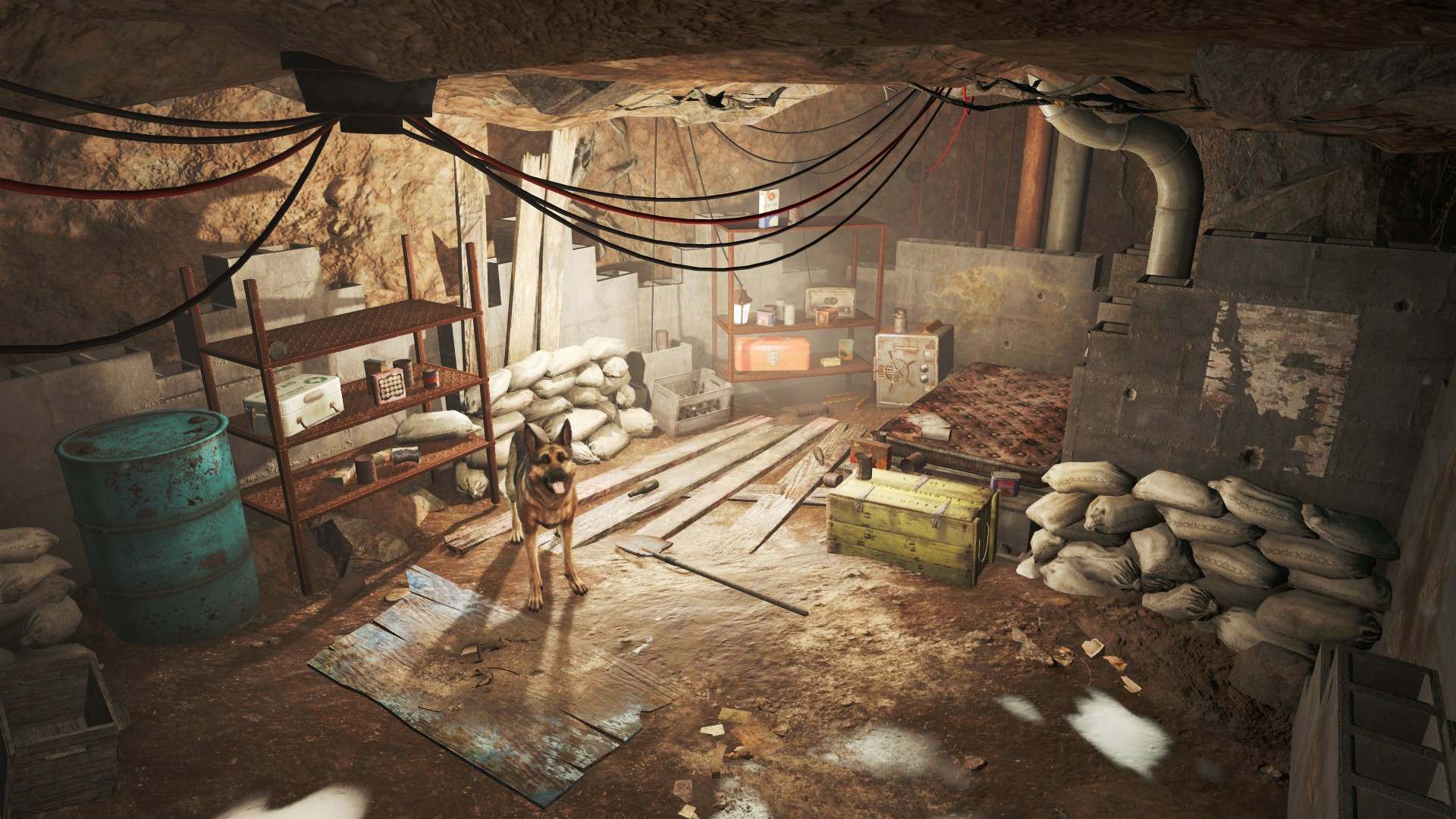 Root cellar fallout wiki fandom powered by wikia for Best house designs fallout 4