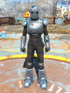 Mechanist's armor