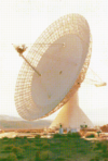 VB DD15 loc Satellite Communications Dish
