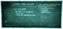 Blackboard Mr Brotch