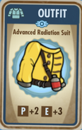 FoS Advanced Radiation Suit Card