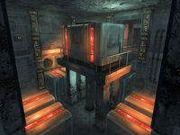 Vault-Tec HQ mainframe room