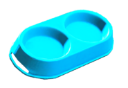 Clean dog bowl