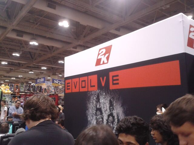 File:2K Games and Evolve at Fan Expo.jpg