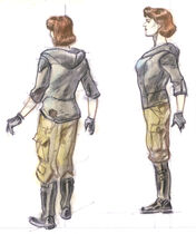 Wasteland wanderer outfit female CA