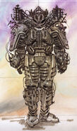 Enclave power armor CA7
