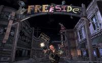 Prerelease Freeside entrance