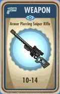 FoS Armor Piercing Sniper Rifle Card