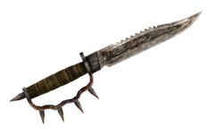 Trench knife