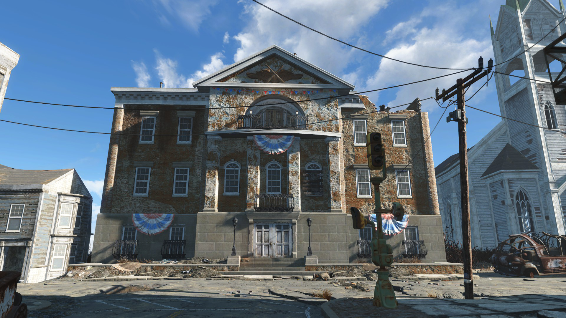 Museum of freedom fallout wiki fandom powered by wikia for Fallout 4 mural