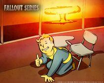 Vault-Tec Fallout Wallpaper