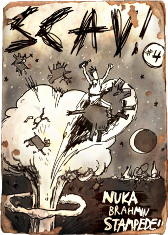 File:SCAV! Issue 4 Nuka Brahmin Stampede!.png