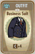FoS Business suit Card