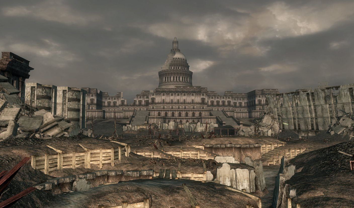 The Capitol Building Fallout Wiki Fandom Powered By Wikia