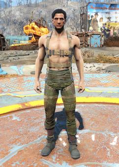 Gunner harness