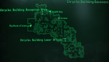 Chryslus Building basement map
