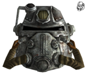 FNV T51b power armor helmet