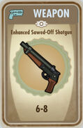 FoS Enhanced Sawed-Off Shotgun Card