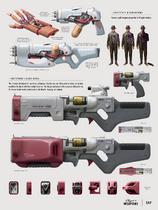 Institute weapons concept art