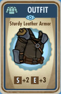 FoS Sturdy Leather Armor Card