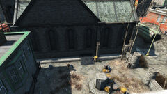 FO4 entry to church of the cat