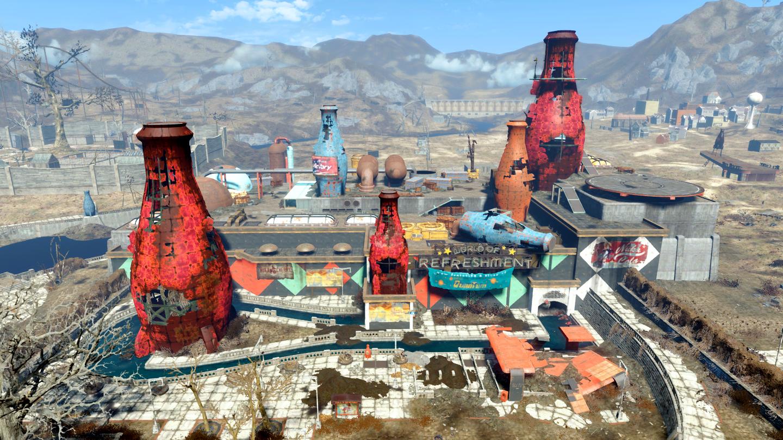 Fallout 4 nuka world где находится