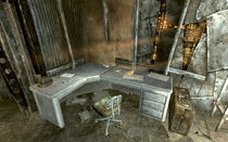 Mr Burke's house office desk