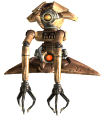 fallout 3 alien robots