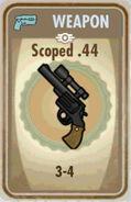 Fos Scoped .44 Card