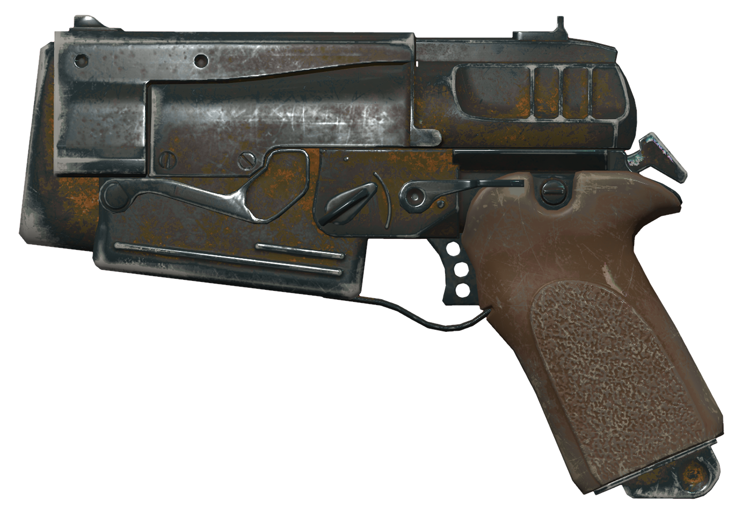 Fallout 4 10mm Pistol Rework Amp Redesign Polycount