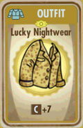 FoS Lucky Nightwear Card