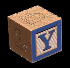 Wooden block Y