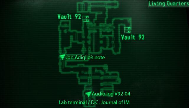 File:Vault 92 living quarters loc map.jpg
