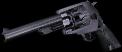 .45 revolver hand