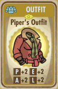 FoS Piper's Outfit Card