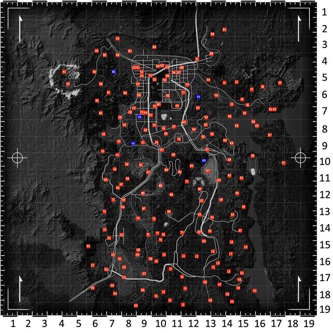 Fallout New Vegas Map v0.03