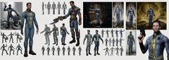 Fo4 vault suit concept art